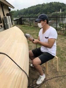 カヌー製作③